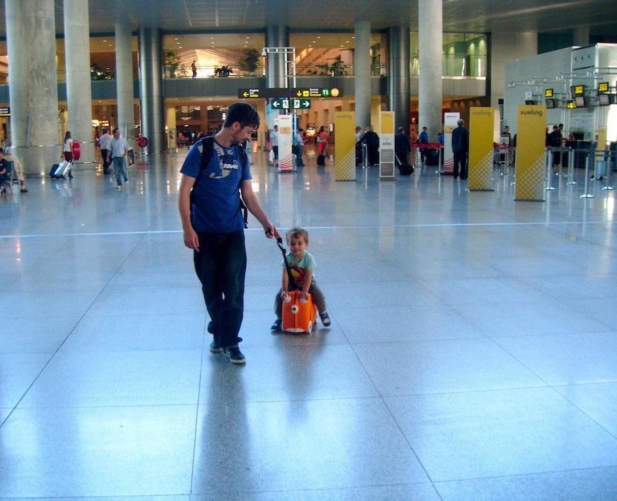 trunki aeropuerto