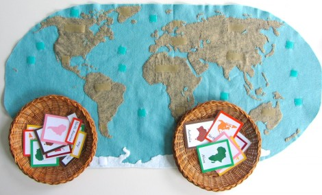 """Proyecto """"Continentes"""" - """"Continents"""" Project"""