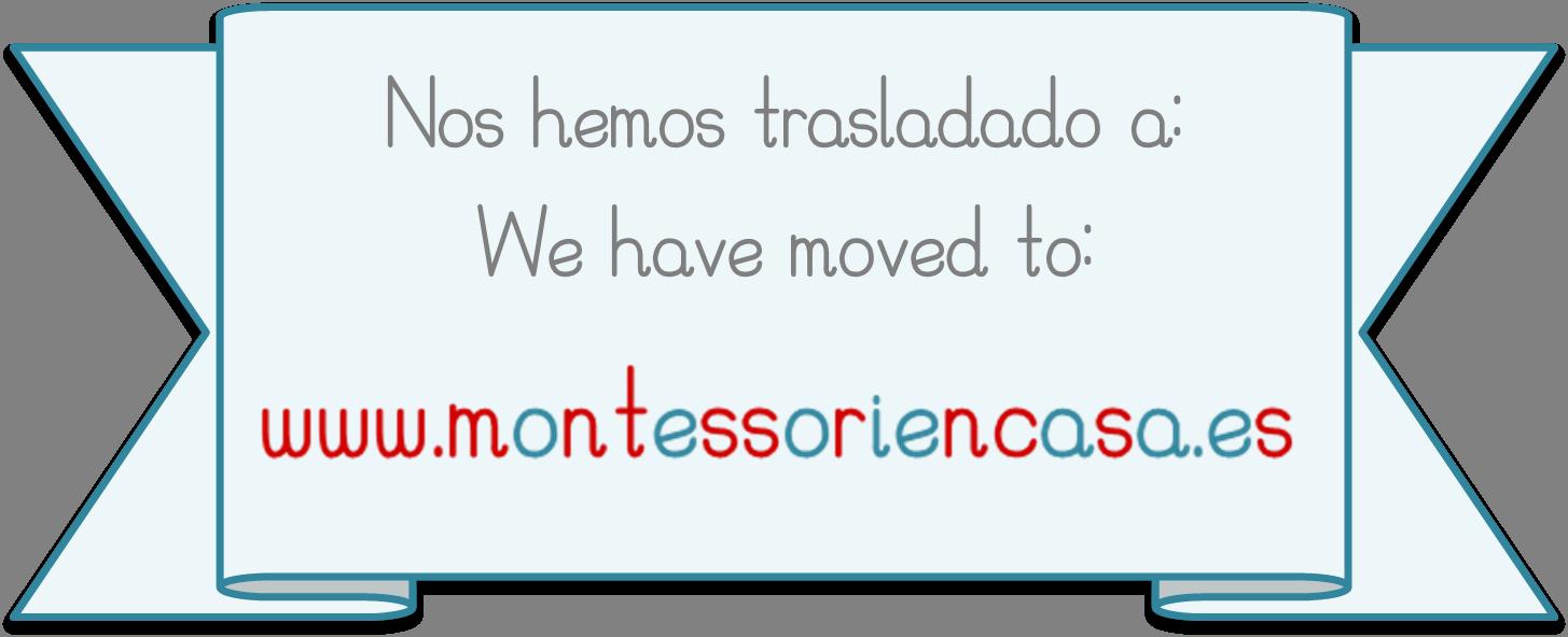 Nos hemos trasladado a www.montessoriencasa.es